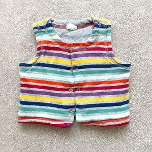 Gap baby girls reversible vest